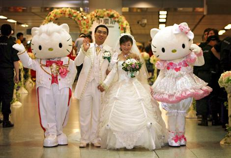 hello kitty wedding theme. Overboard wedding themes. 16 May